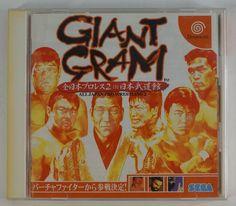 #Dreamcast Japanese Giant Gram: All Japan ProWrestling 2 HDR-0005 http://www.japanstuff.biz/