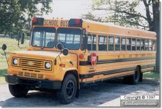 Late 70's School Bus On A Chevrolet Chassis