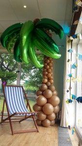 Palm tree sculpture