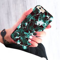 Phone Cases – Green Marble case for Apple iPhone Samsung HTC – a unique product…