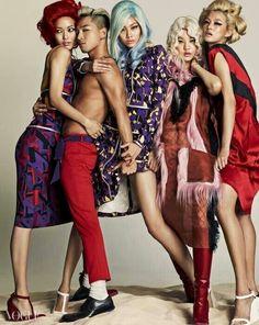 #Taeyang for Vogue Korea 061614  :: Damn! This is freakin hot...