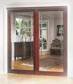 1000 images about bedroom 2 on pinterest mirror closet - Puertas de terraza ...