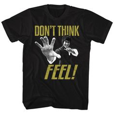 Bruce Lee - Don't Think Feel T-Shirt