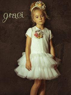 Graci flower girl dress