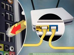 How to Connect One Router to Another to Expand a Network. This wikiHow teaches you how to add a secondary router to your home or small business network. If you want to add more computers or other devices to your home or small business. Computer Router, Router Wifi, Internet Router, Computer Internet, Wireless Router, Computer Repair, Computer Keyboard, Hp Computers, Computers For Sale