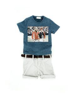 Simple Kids and Sunchild - Thalia & Bubu Thalia, Little Man, Onesies, Kids Fashion, Bucket, Simple, Boys, T Shirt, Clothes