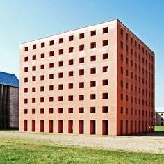 Postmodern architecture: SanCataldoCemetery by Aldo Rossi