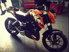 New KTM Duke 200. #BulletBikes #KTM