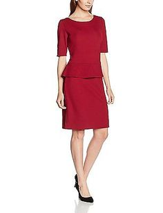 16, Rot (glory red 3872), s.Oliver BLACK LABEL Women's 11.608.82.5294 Dress NEW