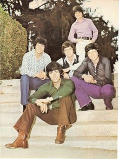 OSMOND BROTHERS pinup – Rare one on steps! JAY ALAN