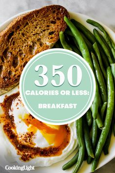 These 6 Breakfasts Are Under 350 Calories and Will Keep You Full Until Lunch Brunch Recipes, Breakfast Recipes, Dinner Recipes, Cooking 101, Cooking Light, Breakfast To Loose Weight, Healthy Low Carb Dinners, Clean Eating Recipes, Meal Prep