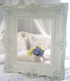SOLD   Frame  shabby chic furniture home decor by backporchco on Etsy, $168.00