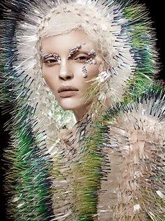 'Natural Vision' Kate Bogucharskaia by David Dunan for Vogue China April 2014
