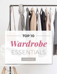 Wardrobe essentials | Top 10 onmisbare basics voor in je garderobe. Basisstukken zijn tijdloos, stijlvol en kunnen overal bij gedragen worden