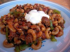 Old World Hungarian Goulash from Food.com: One of the best goulash recipes I've ever come up with. I think that the original recipie I started out with used 2 lbs. beef stew meat, cut into 1-inch pieces instead of ground beef