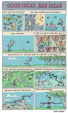 Comics and Ideas by Cartoonist and Illustrator, Grant Snider