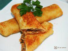 Посни похувани пирошки со фил од печурки - Сè за храна