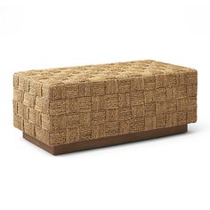 Modern Hollywood Woven Bed Bench - Chaises / Settees - Furniture - Products - Ralph Lauren Home - RalphLaurenHome.com