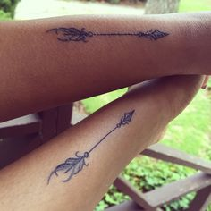 Friendship arrow with my best friend :) Instagram: Dresstoexpress_