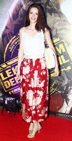 Kalki Koechlin at premiere of 'Lekar Hum Deewana Dil'.