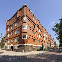 Het Schip, museum, Amsterdamse School, Amsterdam. Fotograaf: Dirk Verwoerd