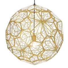 Buy Tom Dixon Etch Web Pendant Brass online with Houseology's Price Promise. Full Tom Dixon collection with UK & International shipping. Brass Pendant Light, Globe Pendant, Pendant Lighting, Orb Light, Brass Lamp, Light Fixture, Pendant Lamps, Suspended Lighting, Shop Lighting
