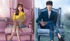 """☀ W (aka W Two Worlds) ~ Synopsis: What is real and what is made up? A mysterious parallel universe about a man & a woman who live in the same Seoul but in different environments. A romance takes place between Kang Chul (Lee Jong-Suk), who is super rich and exists in the webtoon """"W,"""" and Oh Yeon-Joo (Han Hyo-Joo) who is a surgeon and the daughter of a famous comic book creator in the real world. 