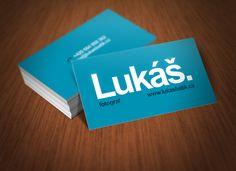 Business cards for independent photographer by Viktor Bezdek, via Behance