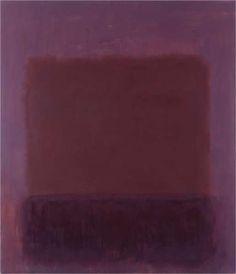 Purple Brown - Mark Rothko
