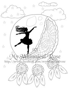 The Fairy's Gate Dragonfly Garden Fairy Printable Coloring