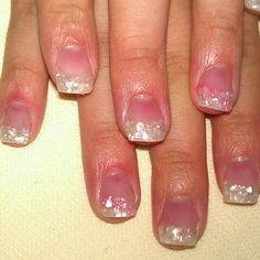 Sea Shell Nails - love this in pink too <3