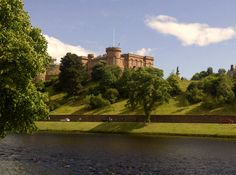 Inverness Castle in Inverness, Highland