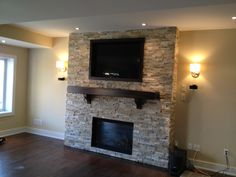 Love this fireplace we built in our home; must do again in next house