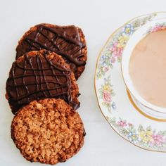 Chocolate Coated HobNobs-Get your hourly source of sweet...