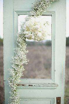 Weding door mint
