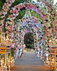 HappeningNow 🌸 This is what dreams are made of ! Wedding Entrance, Wedding Mandap, Entrance Decor, Wedding Arches, Wedding Receptions, Wedding Scene, Dream Wedding, Lebanese Wedding, Wedding Stage Decorations