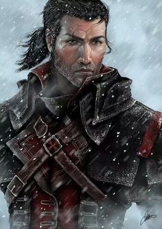 this guy is totally getting used....awesome roguish good looks and lots of buckles.