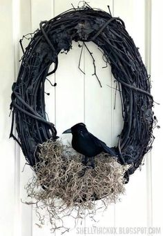 I'm going to make this Halloween wreath this year 2017