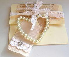 Heart gift card holder