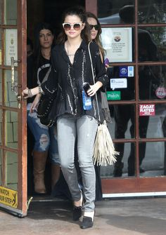 Selena Gomez and Free People Abbey Road Sunglasses Photograph