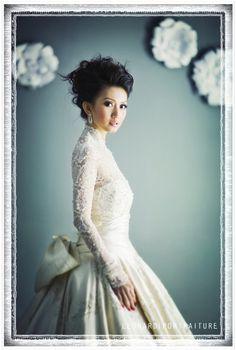 Bridal Makeup and Hair for Priscilla ( Jakarta) , Jakarta Indonesia photograph by Indra Leonardi