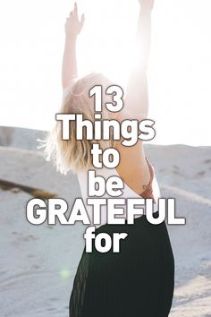 Self Care - 13 Things to be Grateful for