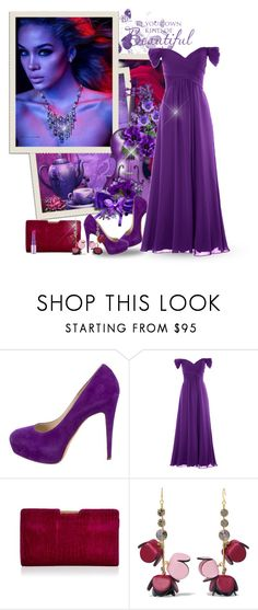 """Violent & Magenta"" by majezy ❤ liked on Polyvore featuring Green & Spring, Sanders, Brian Atwood, Milly and Marni"