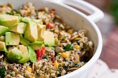 Quinoa Millet Casserole