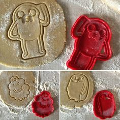 Adventure time collection! #3dprint #3dprinting #cookies #cookiecutter #madcookies #adventuretime by oknedida