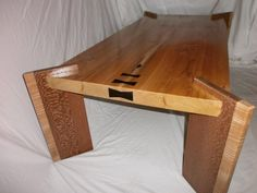 Old Growth/Live Edge Red Cedar Coffee Table
