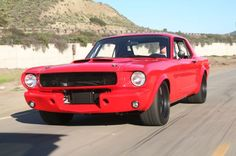 Wilwood builds a 1966 Ford Mustang to develop brakes, and ends up racing the wheels off of it! 1966 Ford Mustang, Mustang Cars, Ford Mustangs, Classic Mustang, Ford Classic Cars, Black Mustang, Best Muscle Cars, American Muscle Cars, Pontiac Gto