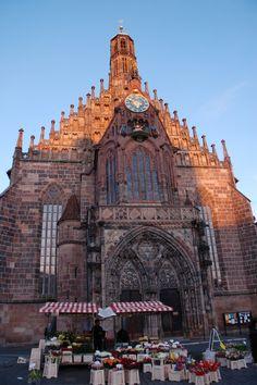 My parents were married in this church - The Frauenkirche in Nuremburg