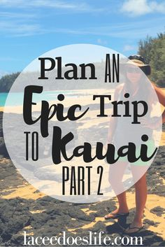 Need help planning an epic adventure to Kauai? Check out this 2 week itinerary before planning your perfect trip to Kauai! Kauai Vacation, Hawaii Travel, Travel Usa, Travel Tips, Travel Destinations, Tropical Vacations, Vacation Ideas, Travel Info, Vacation Spots
