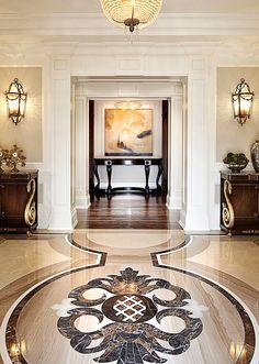 80 spectacular home floor design ideas 4 ⋆ masnewsclub Classic Interior, Best Interior, Luxury Interior, Home Floor Design, House Design, Contemporary Interior Design, Home Interior Design, Modern Interior, Decoration Inspiration